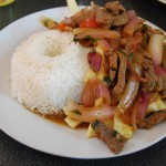 Lomo Saltado, Early Peruvian fusion