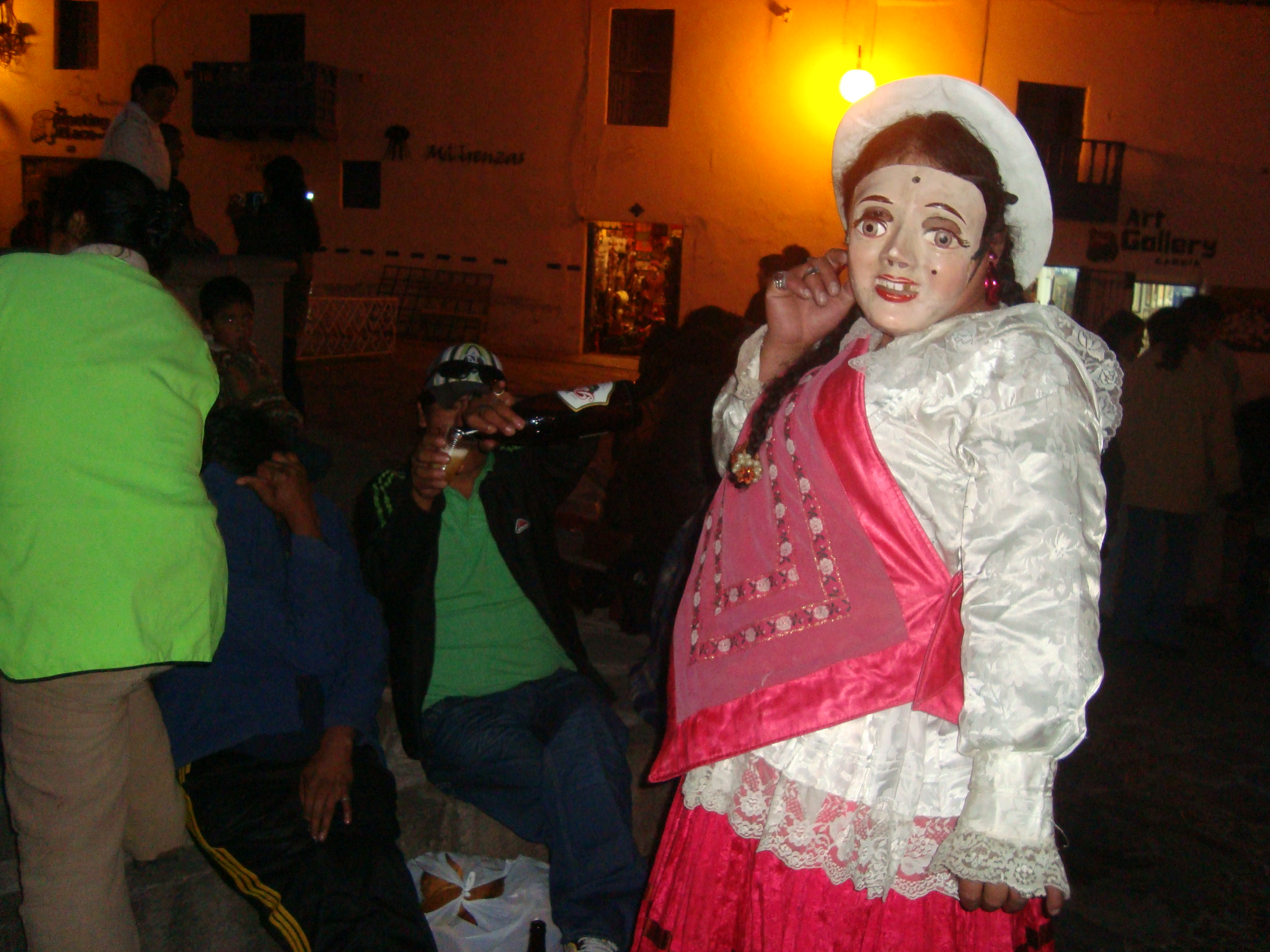 Dancer in San Blas, Cuzco for Carnival