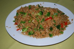Arroz Chaufa, Chifa-style Fried Rice