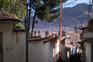 View from San Blas Neighborhood