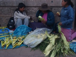 Goods for Holy Week, Cuzco