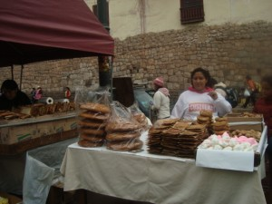 Bread and pastry for Holy Week, Cuzco
