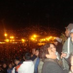 Crowd Waiting for Annual Blessing by Taytacha, Cuzco