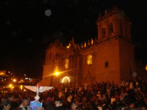 Full Moon and Blessing, Cuzco