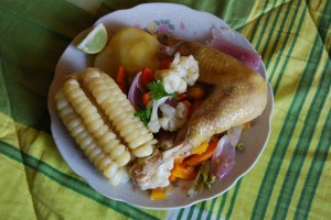 Escabeche with the Chicken Unwrapped, Cuzco
