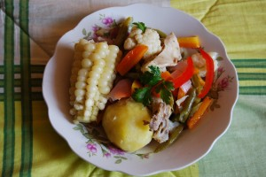 Chicken Escabeche, Cuzco