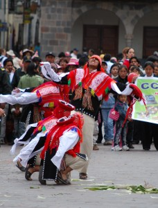 Men Fighting for the Corn, Cuzco, March 28, 2010