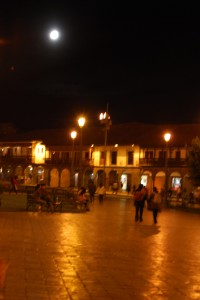 Full Moon over Cuzco