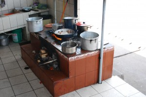 Saylla, Open Air Kitchen