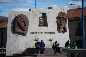 Modern Monument in Limacpampa, Cuzco