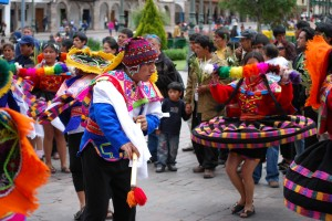 Dance Troupe, Palm Sunday, Cusco