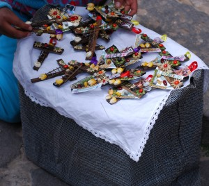 Crosses for Sale, Palm Sunday, Cuzco