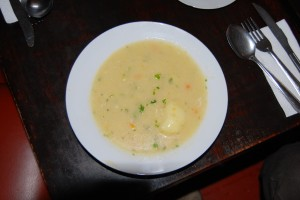 Soup from Menu, Goia Restaurant