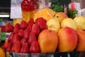 Fruit for Smoothies in Market