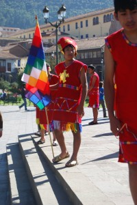 Youth Guards Payment to the Earth, Cuzco