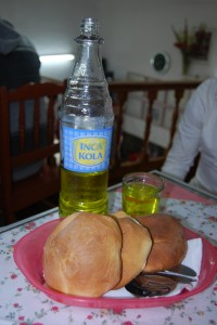Inca Cola and Bread