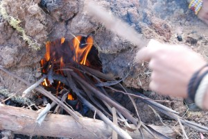 Fire in the Earthen Oven