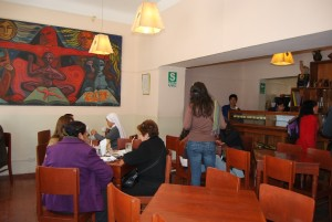 Cafe Ayllu and Mural