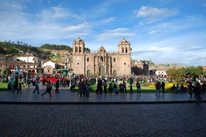 Classic View of Cathedral, Cuzco