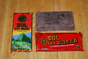 Chocolate Bars for Cuzco Hot Chocolate