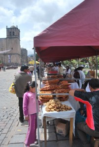 Bread Babies and Horses for Sale in Cuzco