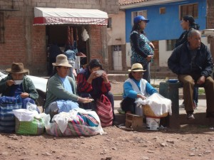 Women Selling Prepared Food