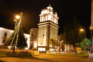 Santo Domingo in December
