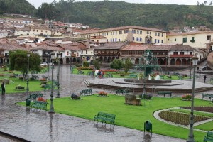 Main Square in the Rain