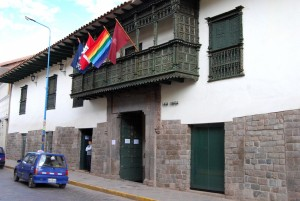 Entrance to the Casa Concha