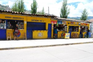 Stores with the Inca Kola Brand