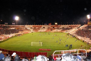 Garcilaso's Stadium at Night