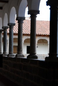 Columns in the Casa Concha