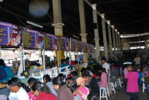 Eating in the Market