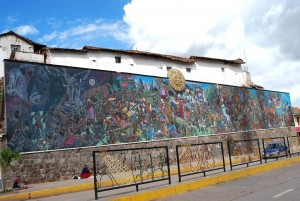 History of Cuzco in the Wall