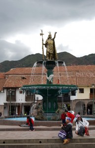 The Inka At the Main Square