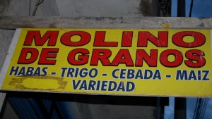 Molino to Grind Grains