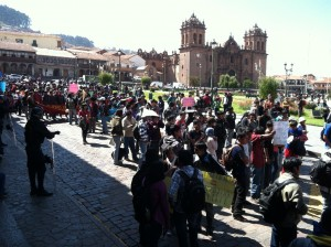 Opposition to XSTRATA in Cuzco