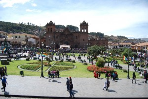 Cuzco's Plaza de Armas and its Cathedral