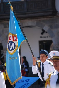 Garcilaso's Flag Bearer