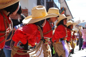 Dancing with Straw Hats