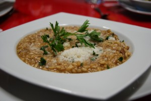 Risotto with Porcini Mashrooms