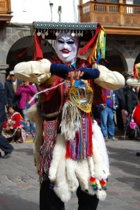 Qhapac Colla Dancer