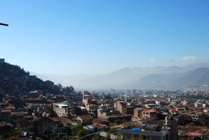 Smog Over Cuzco