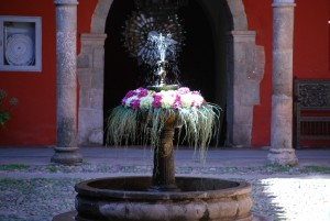 A Fountain in Picoaga Hotel