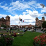 Big Sky over the Plaza de Armas