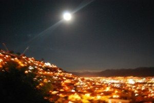 Blurry Night in Cuzco