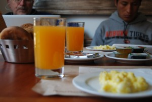 Orange Juice in Breakfast