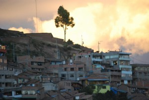 Residential Cuzco at Sunset