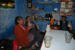 Ladies Enjoying Themselves in a Picantería