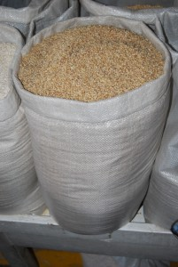 Wheat for Sale in the Market